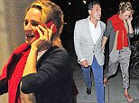 14.JULY.2015  - LONDON  - UK *** EXCLUSIVE ALL ROUND PICTURES AVAILABLE FOR UK NEWSPAPERS ONLY*** ACTRESS UMA THURMAN LOOKS IN GOOD SPIRITS AS SHE'S PICTURED ENJOYING A NIGHT OUT WITH HOTELIER ANDRE BALAZS ENJOYING AN INTIMATE DINNER FOR TWO BEFORE MAKING THEIR WAY BACK TOGETHER TO A CENTRAL LONDON HOTEL.. BYLINE MUST READ : XPOSUREPHOTOS.COM ***UK CLIENTS - PICTURES CONTAINING CHILDREN PLEASE PIXELATE FACE PRIOR TO PUBLICATION *** **UK CLIENTS MUST CALL PRIOR TO TV OR ONLINE USAGE PLEASE TELEPHONE  442083442007