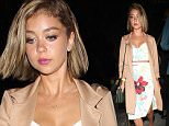 Sarah Hyland leaves a night club in West Hollywood\n\nPictured: Sarah Hyland\nRef: SPL1079716  150715  \nPicture by: Photographer Group / Splash News\n\nSplash News and Pictures\nLos Angeles: 310-821-2666\nNew York: 212-619-2666\nLondon: 870-934-2666\nphotodesk@splashnews.com\n