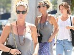 """Picture Shows: Rachel Hunter  July 13, 2015\n \n New Zealand model and actress Rachel Hunter goes shopping with her daughter Renee in West Hollywood, California.\n \n Rachel admitted to Woman's Day magazine that she still hasn't read her ex-husband Rod Stewart's autobiography. """"I  couldn't. It would upset me too much.""""\n \n Exclusive All Rounder\n UK RIGHTS ONLY\n FameFlynet UK © 2015\n Tel : +44 (0)20 3551 5049\n Email : info@fameflynet.uk.com"""