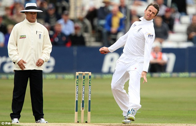 Graeme Swann (right) has changed his telephone digits to reflect the number he wore during his Test career