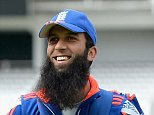 LONDON, ENGLAND - JULY 15:  Adil Rashid, Moeen Ali and James Anderson of England walk across the outfield ahead of a nets session ahead of the 2nd Investec Ashes Test match between England and Australia at Lord's Cricket Ground on July 15, 2015 in London, United Kingdom.  (Photo by Gareth Copley/Getty Images)