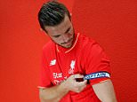 LIVERPOOL, ENGLAND - JULY 10:  (THE SUN OUT, THE SUN ON SUNDAY OUT) Jordan Henderson of Liverpool is appointed new captain on July 10, 2015 in Liverpool, England.  (Photo by Andrew Powell/Liverpool FC via Getty Images)
