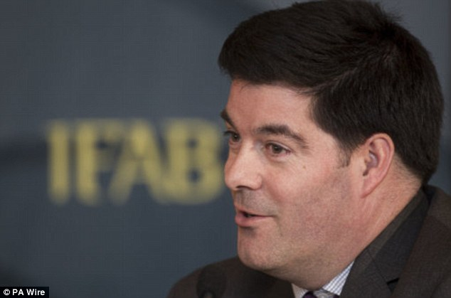 Three senior FA executives Jonathan Hall (pictured), Roger Maslin andAlistair Maclean are now redundant