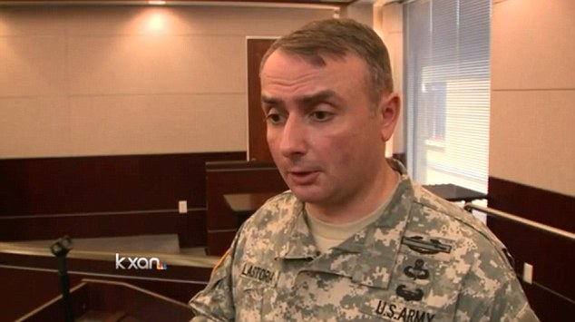 Lieutenant Colonel Mark Lastoria told KXAN: 'We are going to be doing this, conducting the training exercise safely and courteously. We are not going to interfere with their privacy or their rights with this'