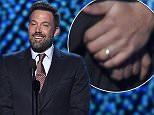 Ben Affleck presents the icon award at the ESPY Awards at the Microsoft Theater on Wednesday, July 15, 2015, in Los Angeles. (Photo by Chris Pizzello/Invision/AP)