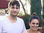 EXCLUSIVE: **PREMIUM RATES APPLY**STRICTLY NO WEB UNTIL 2AM PST, JULY 15th 2015** After their first stop at Yosemite Valley National Park, newlyweds Mila Kunis and Ashton Kutcher continued their honeymoon road trip with a stop in Lodi, CA, where they had lunch at El Maguey Mexican Grill, after lunch they headed to Wine and Roses resort for some wine tasting at their Towne House Restaurant, they then enjoyed the animals with a walk in the resorts gardens. After Lodi, the family headed over to Napa Valley where they stayed at the Vineyard RV Park, the couple happily posed for pictures with fans that they shared the RV park with. During their time in Napa, Mila and Ashton stopped by Whole Foods in Downtown where they stocked up on BBQ foods and snacks. The couple also dined at Heritage Eats and hit up a local ice cream shop. After 3 days in Napa, the family headed south with a quick stop in Los Banos, CA where they hit up a Panda Express for lunch, then headed over to San Luis Reservoir