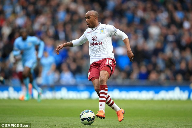 Sherwood hailed Delph as the driving force behind Villa's survival from Premier League relegation last term
