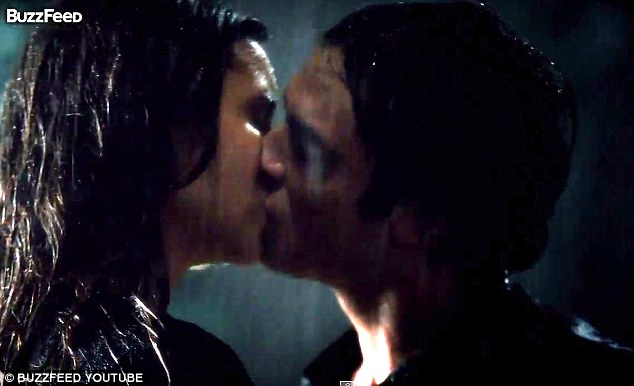 The original: The actual kissing scene was the fan-favourite for season 6