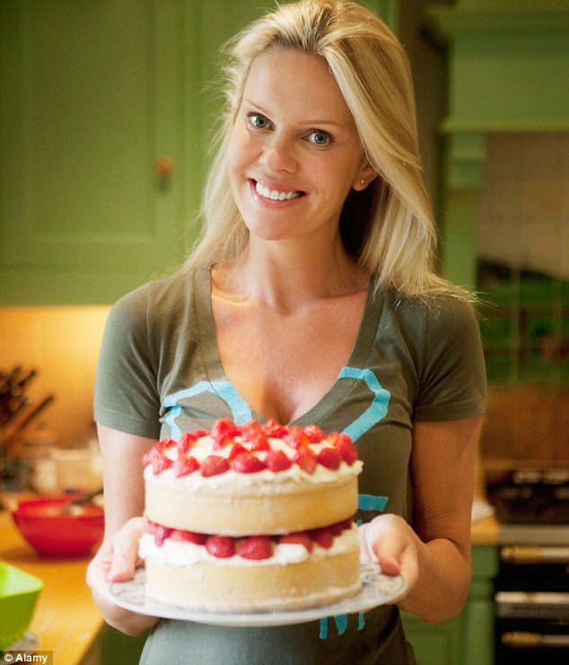 Just say 'no': Dr Beck says it's important to maintains willpower when offered another slice of cake