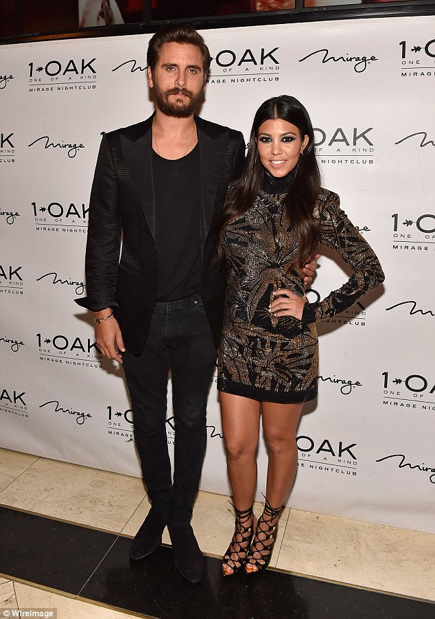 Split: Kylies eldest step-sister Kourtney recently split from her longtime love and father of her three kids Scott Disick. 'Kourt is actually doing great,' Kylie told E! News. 'We're sisters, we always stick together.'