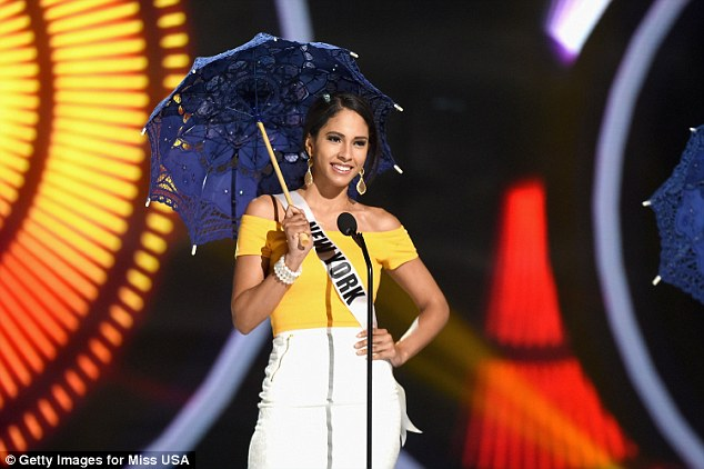 'They got a job once they got off the plane': Miss New York's parents were born in the Dominican Republic and told NBC News she learned her work ethic from them