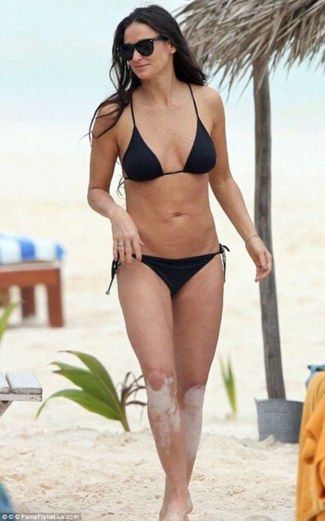 Demi Moore, 52, is another example of women looking fit and fabulous beyond the age of fifty