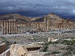 (FILES) - A file picture taken on March 14, 2014 shows the citadel (background) of the ancient oasis city of Palmyra, 215 kilometres northeast of Damascus, over looking the city. Jihadists from the Islamic State group seized full control of the ancient Syrian city of Palmyra on May 21, 2015, a monitor said, putting the world heritage site at risk of destruction. AFP PHOTO/JOSEPH EIDJOSEPH EID/AFP/Getty Images