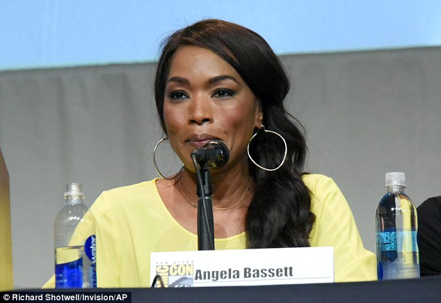 Summery: Angela brightened up the panel with a yellow garb