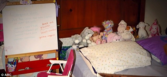Amanda Berry gave birth to a daughter Jocelyn in captivity. She tried to shield her daughter from the horrifying reality of their lives and even set up a kindergarten in the room they were held in, pretending to 'walk to school' each morning