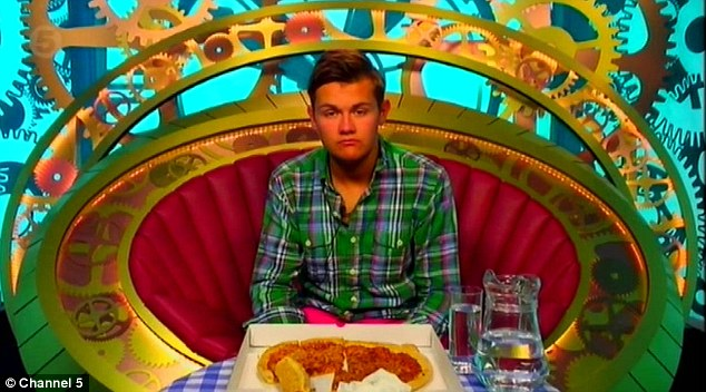 Flop: Meanwhile, Joel also had a go at adding to the prize fund - but failed. He was called to the Diary Room and offered £4,300 for simply eating pizza