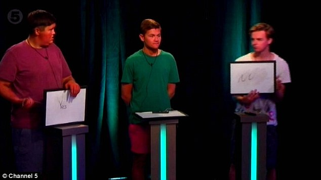 Straw poll: The housemates answered questions on one another - about how the public rate them