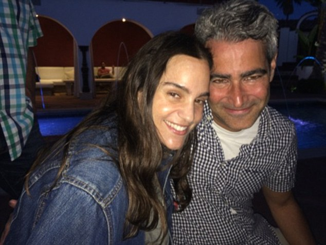Staying power: Producer Larry Stern and his wife Sara were among the longevous guests