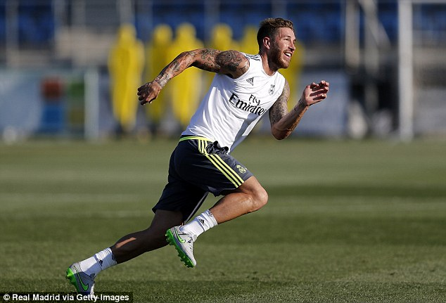 Manager Louis van Gaal also remains intent on signing Sergio Ramos from Real Madrid