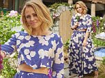 CREDIT: Joel Anderson/Comfort/Rex Shutterstock  Mandatory Credit: Photo by Comfort/REX Shutterstock (4904399c)  Kimberley Walsh in the 'Comfort Intense' garden made entirely from clothes  Kimberley Walsh unveils garden made from clothes, Covent Garden, London, Britain - 16 Jul 2015  FULL COPY: http://www.rexfeatures.com/nanolink/qnvc  Kimberley Walsh is partnering with Comfort Intense as she unveiled a stunning garden in the heart of London?s Covent Garden today (16 July).  However, this garden has a hidden secret as all of the flowers have been created from hundreds of clothes, freshly washed, in the four new Comfort Intense fragrances. The Comfort Garden was opened to the public for one day only today.