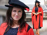 Cardiff News\nHonorary Fellow Susanna Reid at Cardiff University\nPic Michael Hall