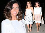 LUCY MECKLENBURGH SEEN OUT HAVING COCKTAILS AND DINNER WITH A FRIEND AT LOTT 75 IN SHENFIELD ESSEX. WEDNESDAY 15TH JULY 2015 - MAGICMOMENTSUK - 07753 30 30 77