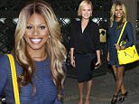 "NEW YORK, NY - JULY 15:  Actress Laverne Cox attends The Cinema Society with FIJI Water & Metropolitan Capital Bank host a screening of Sony Pictures Classics' ""Irrational Man"" at Museum of Modern Art on July 15, 2015 in New York City.  (Photo by Jim Spellman/WireImage)"