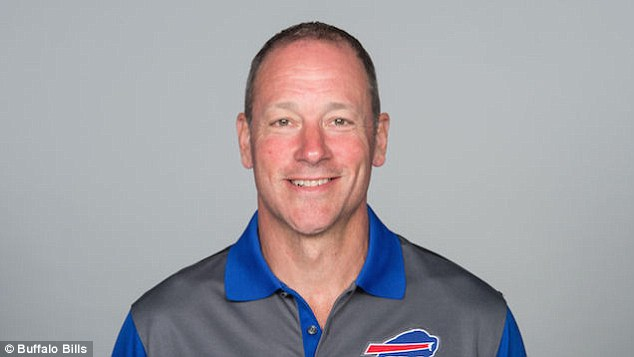 Coach: Kromer joined the Bills in January after being fired as the Chicago Bears' offensive coordinator
