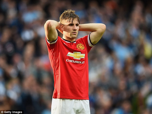 Shaw made just 16 league appearances in his debut season at United last year after his £31.5million move