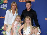 Pictured: Steven Gerrard and Alex Curran Mandatory Credit © Gilbert Flores/Broadimage Kids' Choice Sports 2015  7/16/15, Westwood, CA, United States of America  Broadimage Newswire Los Angeles 1+  (310) 301-1027 New York      1+  (646) 827-9134 sales@broadimage.com http://www.broadimage.com