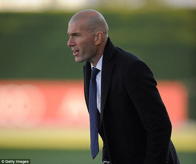 Zidane, a France and Real Madrid legend, is currently the manager of the Real Madrid Castilla side