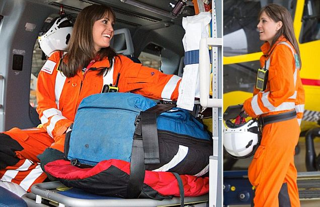 Prince William starts job as helicopter pilot with glamorous flying doctor