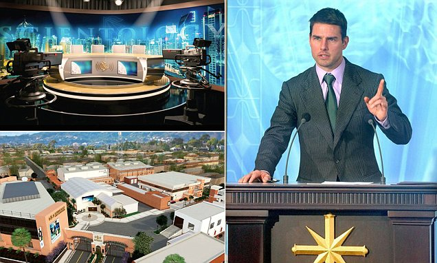 Inside Tom Cruise's 'Scientology CNN' TV news network