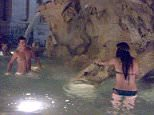 American tourists swimming in historic fountain in Rome. Pictures taken from Facebook site with permission from copyright holder:  https://www.facebook.com/permalink.php?story_fbid=878296138892380&id=132104430178225
