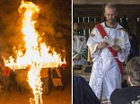 """Members of the National Socialist Movement and the Adirondack Fraternity White Knights, a group that claims affiliation with the Ku Klux Klan, take part in a cross and swastika lighting ceremony at a private residence in Hunt County, Texas, November 9, 2014. The Ku Klux Klan, which had about 6 million members in the 1920s, now has some 2,000 to 3,000 members nationally in about 72 chapters, or klaverns, according to the Southern Poverty Law Center, an organization that monitors extremist groups.  REUTERS/Johnny Milano\nPICTURE 30 OF 34 FOR WIDER IMAGE STORY """"INSIDE THE KU KLUX KLAN""""\nSEARCH """"MILANO KKK"""" FOR ALL PICTURES"""