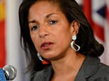 Susan Rice, United States' Ambassador to the United Nations at United Nations headquarters in New York.  30 May 2012. Reports state on 13 December 2012 that Susan Rice has withdrawn  her name for consideration to be next US Secretary of State.  EPA/JUSTIN LANE