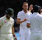 Ashes 2nd Test. Lords. England v Australia. day 2 16/06/15: Kevin Quigley/Daily Mail/Solo Syndication Chris Rogers is out 173 Bowled by Broad
