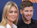 """English soccer player Steven Gerrard (R) and wife Alex Curran attend Nickelodeon's """"Kid's Choice Sports 2015"""" in Los Angeles July 16, 2015. REUTERS/Phil McCarten"""