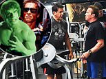 EXCLUSIVE: There was plenty of celebrity muscle on show as Arnold Schwarzenegger and Lou Ferrigno met up for a workout at Gold's Gym in Venice, CA.\nThe Hulk and The Terminator are still going strong in their 60s and both looked in great shape as they chatted in their workout gear.\n\nPictured: Lou Ferrigno and Arnold Schwarzenegger\nRef: SPL1079029  160715   EXCLUSIVE\nPicture by: headTrix, Inc./Splash News\n\nSplash News and Pictures\nLos Angeles: 310-821-2666\nNew York: 212-619-2666\nLondon: 870-934-2666\nphotodesk@splashnews.com\n
