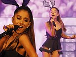 Ariana Grande Performs in Tampa with Ricky Alvarez during her Tampa, Florida stop of her Honeymoon tour at the Amalie Arena.  \n\nPictured: Ricky Alvarez and Ariana Grande\nRef: SPL1008569  160715  \nPicture by: LSFL\n\nSplash News and Pictures\nLos Angeles:310-821-2666\nNew York:212-619-2666\nLondon:870-934-2666\nphotodesk@splashnews.com\n