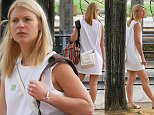 BERLIN, GERMANY - JULY 17:  Claire Danes sighted visiting the German History Museum on July 17, 2015 in Berlin, Germany.  (Photo by Chad Buchanan/GC Images)
