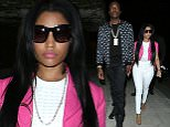 Meek Mill And Nicki Minaj go to Lure Nightclub in West Hollywood\n\nPictured: Nicki Minaj And Meek Mill\nRef: SPL1079732  160715  \nPicture by: Photographer Group / Splash News\n\nSplash News and Pictures\nLos Angeles: 310-821-2666\nNew York: 212-619-2666\nLondon: 870-934-2666\nphotodesk@splashnews.com\n