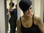 """EXCLUSIVE: Rumer Willis shows off her unbelievable rear end as she is spotted catching a flight out of Los Angeles with an unidentified male friend as news breaks that the former DWTS winner will star in """"Chicago"""" on Broadway.  Willis and her male friend were cozy and touchy as they caught a flight out of LAX in Los Angeles. \n\nPictured: Rumer Willis\nRef: SPL1081243  170715   EXCLUSIVE\nPicture by: Splash News\n\nSplash News and Pictures\nLos Angeles: 310-821-2666\nNew York: 212-619-2666\nLondon: 870-934-2666\nphotodesk@splashnews.com\n"""