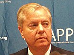 South Carolina Republican Sen. Lindsey Graham, a 2016 presidential candidate, spoke at a national security summit hosted by Americans for Peace, Prosperity and Security in Cedar Rapids, Iowa on July 17, 2015