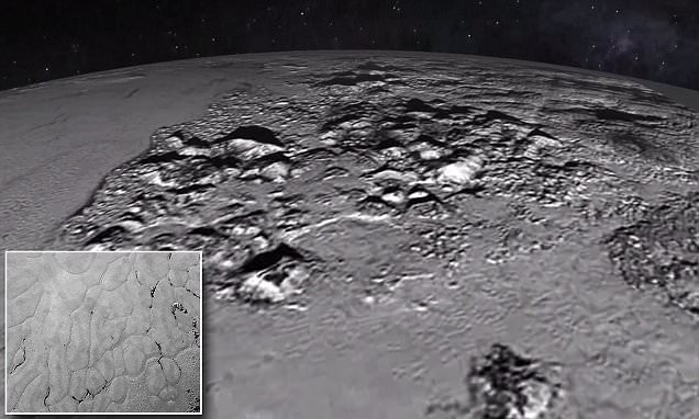 Nasa releases Pluto images showing mountains and vast icy plains