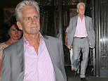 EXCLUSIVE TO INF.\nJuly 13, 2015: Michael Douglas stops by his apartment in New York City for a bit before heading back out this afternoon.\nMandatory Credit: INFphoto.com Ref: infusny-284