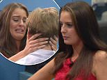 ****Ruckas Videograbs****  (01322) 861777 *IMPORTANT* Please credit Channel Five for this picture. 15/07/15 Big Brother - Channel 5 Day 65 SEEN HERE: Cristian and Danny are shocked to meet Jade again, and Jade tells Cristian that she isn't a bed-hopper (continuing an argument they had when she left) while she told Danny that it looks like he thinks he has already won...    Evicted housemate Jade makes a return to the house as the finalists visit her in two's. She then sat them down and offered her advice to them and gave them an insight into how they are being viewed on the outside, last night Grabs from overnight in the BB house Office  (UK)  : 01322 861777 Mobile (UK)  : 07742 164 106 **IMPORTANT - PLEASE READ** The video grabs supplied by Ruckas Pictures always remain the copyright of the programme makers, we provide a service to purely capture and supply the images to the client, securing the copyright of the images will always remain the responsibility of the publisher at all tim