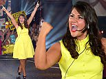 BOREHAMWOOD, ENGLAND - JULY 16:  Chloe Wilburn is crowned the winner of the Big Brother: Timebomb house at Elstree Studios on July 16, 2015 in Borehamwood, England.  (Photo by Karwai Tang/WireImage)