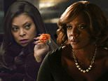 """In this image released by Fox, Taraji P. Henson appears in a scene from """"Empire."""" Henson was nominated for an Emmy Award for outstanding lead actress in a drama series for her role on the show on Thursday, July 16, 2015. The 67th Annual Primetime Emmy Awards will take place on Sept. 20, 2015. (Chuck Hodes/FOX via AP)"""