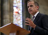 """Bank of England Governor Mark Carney speaks at Lincoln Cathedral in Lincoln, England July 16, 2015. He was speaking as part of the Magna Carta Lecture Series taking place in Lincoln throughout the year. BoE's Carney said on Thursday the decision to raise interest rates from record lows would come into """"sharper relief"""" around the end of this year as inflationary pressures become clearer. REUTERS/Andrew Yates"""